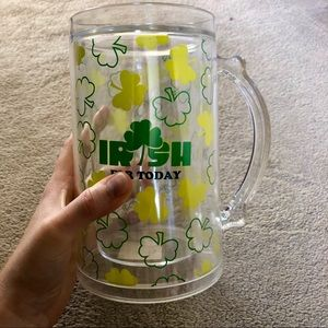 Other - Large St. Patrick's Day Beer Mug | Irish for a Day